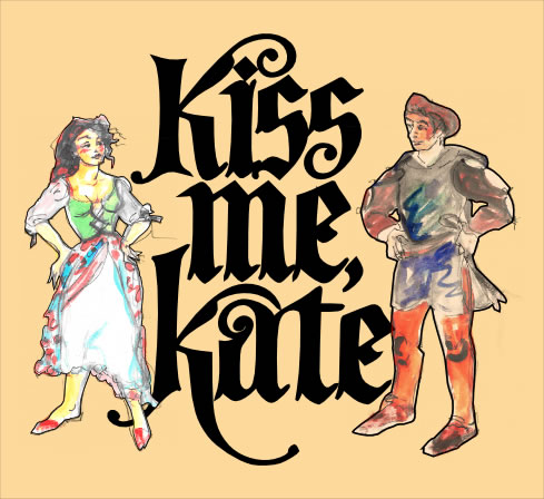 Kiss Me, Kate Logo